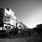 Cambodia Noir - Sunset Street by Tyson Battersby