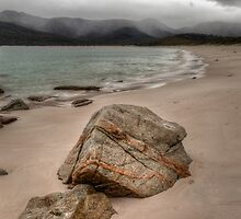 Rain Approaching at Wineglass Bay by Jim Lovell