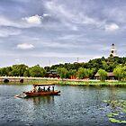 Beihai park in Beijing, China. by Svisho
