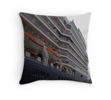 Tall ships of the modern era Throw Pillow