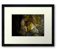 Golden Buddha, Cambodia Framed Print