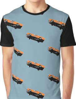 The Dukes Of Hazzard General Lee T-shirt Graphic T-Shirt