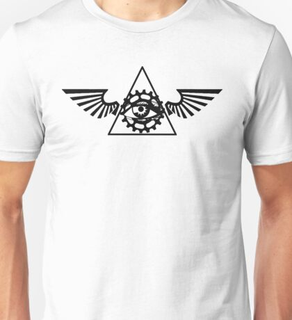 Mountainbike Illuminati Unisex T-Shirt