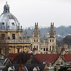 Rooftops of Oxford by Julia Milner