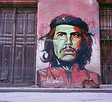 Che Guevara graffiti. by johnboucher