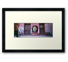 Che Guevara graffiti. Framed Print