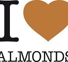 I ♥ ALMONDS by eyesblau