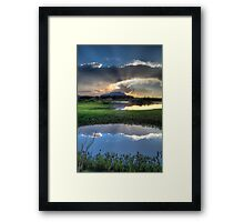 Pond to Pond Framed Print