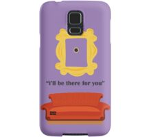 friends Couch i'll be there for you peephole Samsung Galaxy Case/Skin