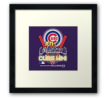 CUBS WIN! 2015 World Series: Fade from Existence Framed Print
