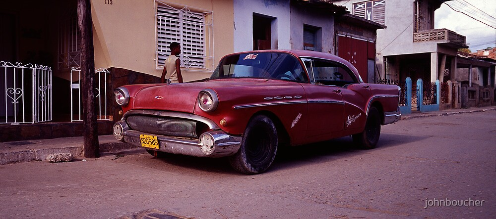Back Street Red Rod by johnboucher
