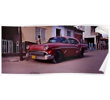Back Street Red Rod Poster
