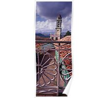 Bell Tower view from Museo Romantico Poster