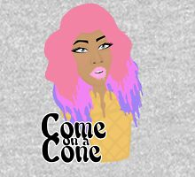 Come on a Cone Womens Fitted T-Shirt