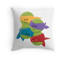 Turtle Cuties Throw Pillow