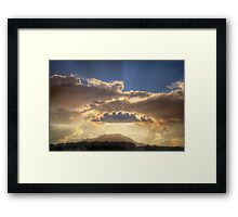Scatter It Framed Print