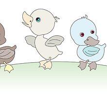 Five little ducks by Lauren Eldridge-Murray