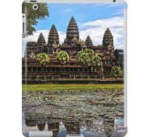 Ankor Wat temple iPad Case/Skin