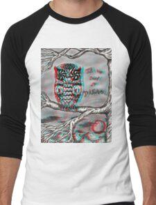 Dream Owl (3D) Men's Baseball ¾ T-Shirt