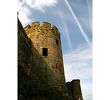Turret, Conwy Castle, Wales. Photographic Print