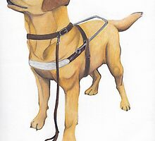 Guide Dog by CherylTDesigns