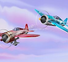 World War Two Fighter Aircraft by Nick  Greenaway