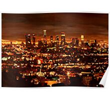 City of Angels - City of Light - Los Angeles Poster