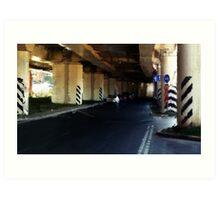 Temernitski Bridge. 2 Art Print