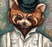 A Clockwork Red Panda by Mari Anrua