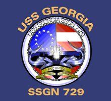 USS Georgia (SSGN-729) Crest for Dark Colors T-Shirt