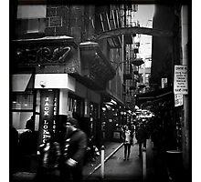 Melbourne Laneways Photographic Print