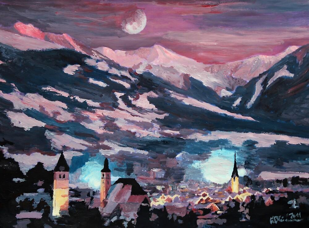 The Kitzbuehel Moon by artshop77