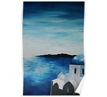 Santorini, Greece,  Poster