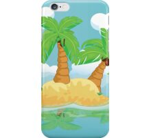 Desert Island iPhone Case/Skin