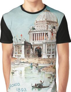 Vintage 1893 Chicago World's fair expo  Graphic T-Shirt