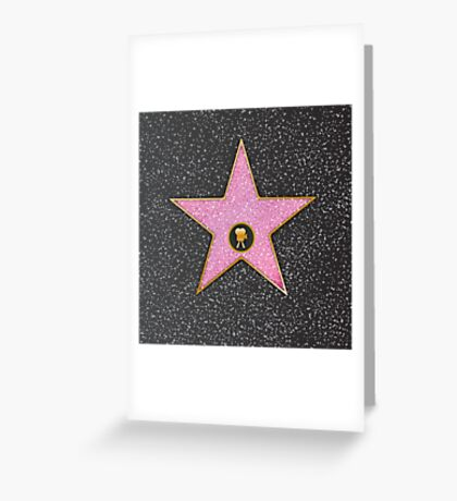 Celeb Movie Star Greeting Card