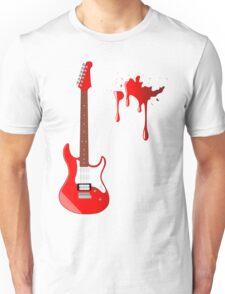 Blood Guitar Unisex T-Shirt