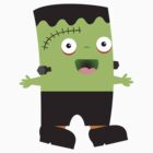 Cute baby Halloween Frankenstein by BigMRanch