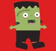 Cute baby Halloween Frankenstein Kids Clothes