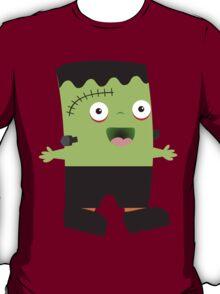 Cute baby Halloween Frankenstein T-Shirt