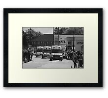 Olympic Torch Relay, Thatcham Framed Print