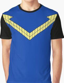 Post Crisis Nightwing Costume Shirt Graphic T-Shirt