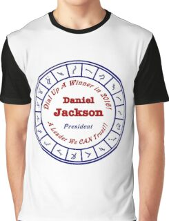 Daniel Jackson: A Man For the Times Graphic T-Shirt