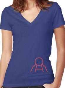 Kyogre! Women's Fitted V-Neck T-Shirt