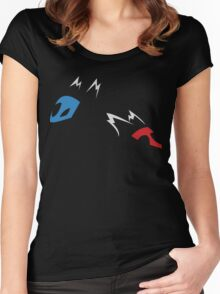 Latias and Latios! Women's Fitted Scoop T-Shirt