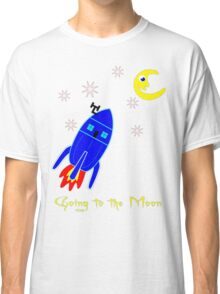 Fly Me to the Moon T-shirt design Classic T-Shirt