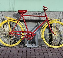 red bike by mrivserg