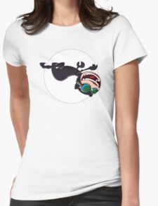 Catwoman hunts for treasure Womens Fitted T-Shirt