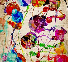 Abstract Expressionism 2 by Phil Perkins