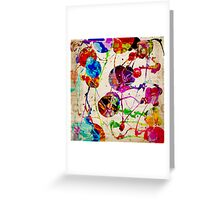 Abstract Expressionism 2 Greeting Card